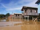 Afetados pela cheia em Boca do Acre, no Amazonas, têm INSS antecipado