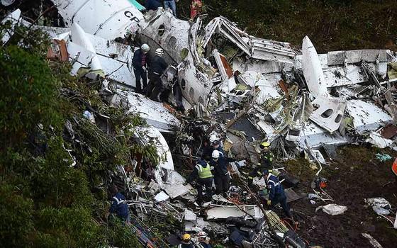 Tripulação de avião que transportava delegação da Chapecoense é boliviana