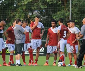 figueirense, treino, cft cambirela, guto ferreira (Foto: Luiz Henrique / Figueirense FC)