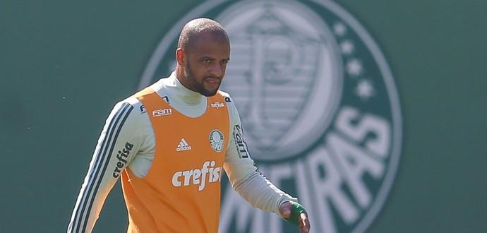 Felipe Melo Palmeiras (Foto: Jales Valquer / Estadão Conteúdo)