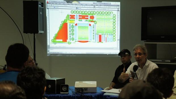 Reunião do Botafogo-pb (Foto: Renata Vasconcellos / globoesporte.com)