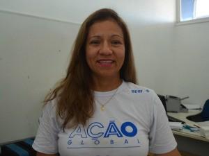 Sanda Santos fez parte da coordenação da 23ª Ação Global no Amapá (Foto: Jorge Abreu/Rede Amazônica)