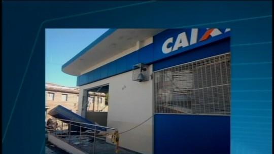 Agência bancária é alvo de criminosos durante a madrugada em Pitangui