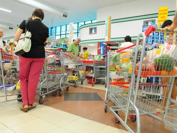Supermercados vão abrir no domingo de Carnaval no Espírito Santo (Foto: Edson Chagas/ Arquivo A Gazeta)