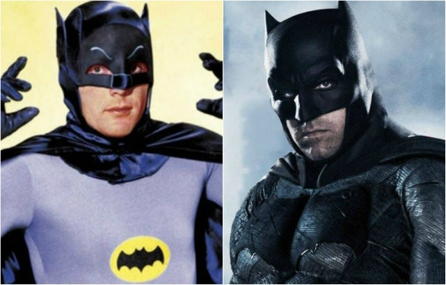 Batman: personagem foi interpretado por diferentes atores ao longo da história (Foto: Reprodução)