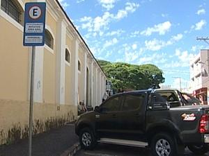 Área do Mercado Municipal faz parte do projeto (Foto: Reprodução/ TV Integração)