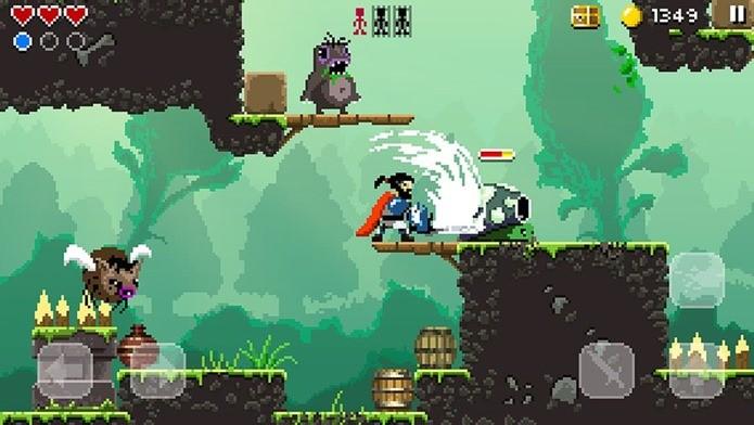 Conheça um game de plataforma e ação nos moldes de Castlevania e Mega Man (Foto: Divulgação)