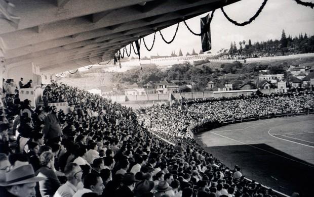 grêmio inauguração olímpico 1954 (Foto: Divulgação/Memorial Herminio Bittencourt)
