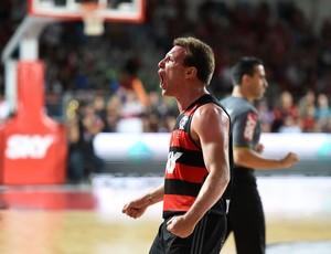 Rafa Luz Flamengo basquete final NBB (Foto: André Durão)