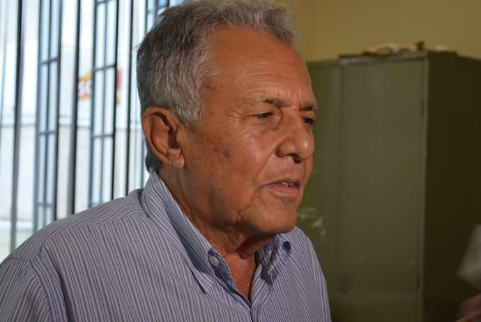 Carivaldo Souza; presidente; FSF (Foto: Felipe Martins)