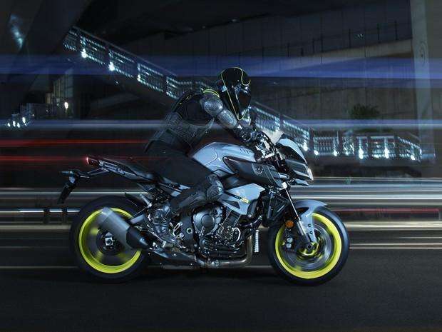 Yamaha MT-10 (Foto: Divulgação)