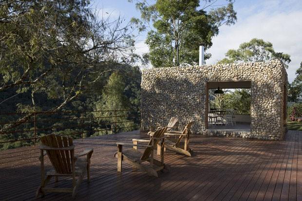 Casa de campo na Serra da Mantiqueira (Foto: Ricardo Labougle)