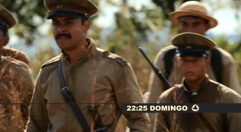 Rondon, tem o primeiro contato com os índios (Foto: TVMO)