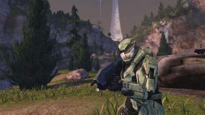 """Halo 2 é a """"cereja do bolo"""" de Master Chief Collection (Foto: Divulgação) (Foto: Halo 2 é a """"cereja do bolo"""" de Master Chief Collection (Foto: Divulgação))"""
