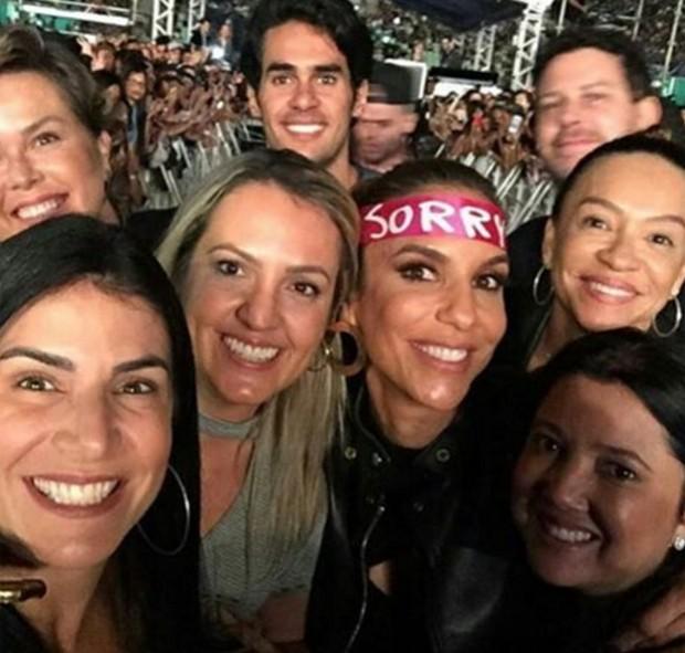 Ivete Sangalo e amigos (Foto: Reprodução/Instagram)