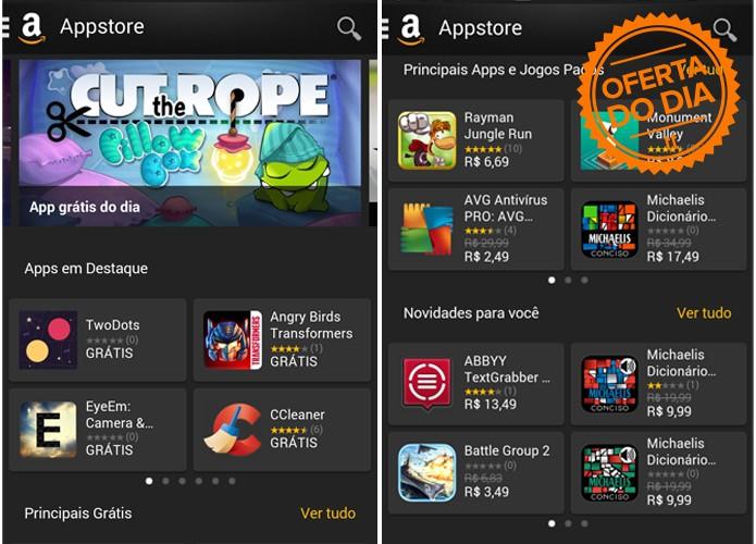 Amazon oferecerá descontos e apps gratuitos para a Black Friday (Foto: Reprodução/Amazon)