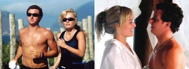 Angélica e Luciano Huck em cenas de 'Um Show de Verão' (Foto: Reprodução/Divulgação)