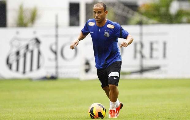 Léo, lateral-esquerdo do Santos (Foto: Ricardo Saibun/Divulgação Santos FC)