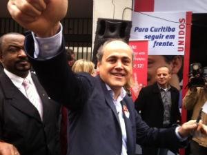 Lula deverá participar da campanha de Gustavo Fruet, diz ministro (Foto: Aline Lamas/G1)