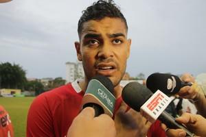 Brenner atacante Inter Vieirão (Foto: Eduardo Deconto / GloboEsporte.com)