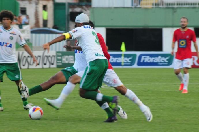 Chapecoense x Inter de Lages (Foto: Greik Pacheco/Inter de Lages)