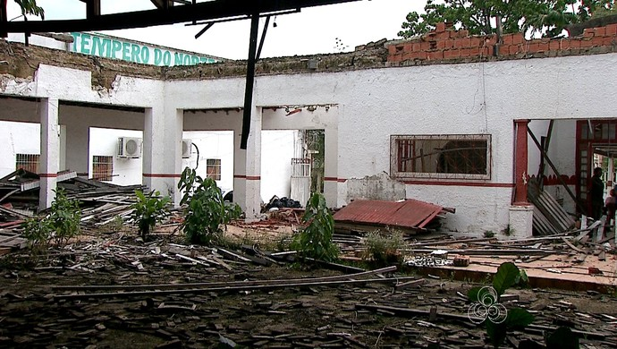 Sede social do Rio Branco-AC (Foto: Reprodução/Rede Amazônica Acre)