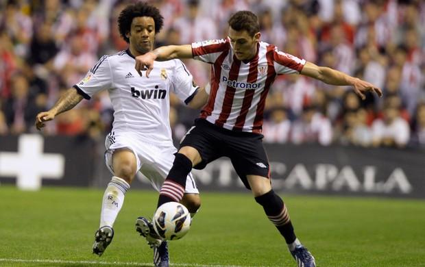 Marcelo, Real Madrid x Atlético de Bilbao (Foto: Reuters)
