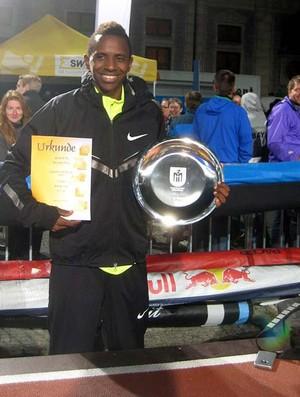 Duda alcança 8,11 m em Munique e lidera o ranking brasileiro de 2012 do salto em distância (Foto: Divulgação Contrapé de Jornalismo)
