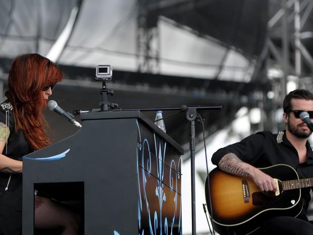 Pitty apresenta seu projeto Agridoce no palco Cidade Jardim (Foto: Flavio Moraes/G1)