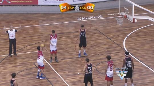 Copa TV Tribuna de Basquete Escolar define os campeões na Arena Santos