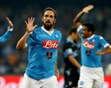 Higuaín faz dois gols, Allan também marca, e Napoli goleia o Lazio