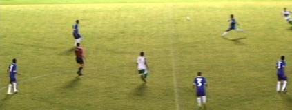Pelé não fez: gol de antes do meio-campo e de 1ª de Gessé (Reprodução )