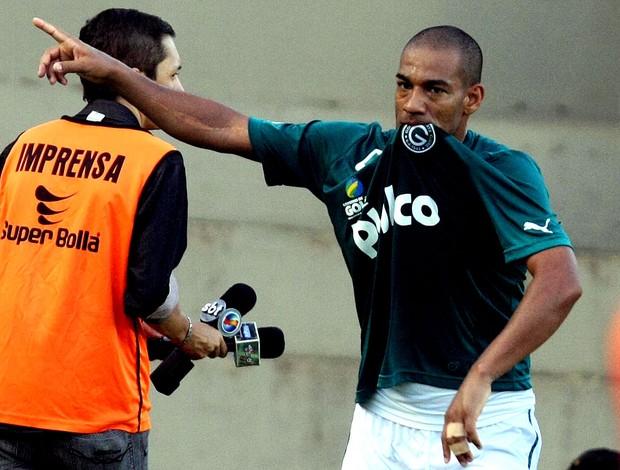 Rodrigo goiás gol são paulo (Foto: Carlos Costa / Agência Estado)