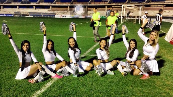 Panteras Alvilindas voltam a se apresentar dia 7 de agosto quando o São Raimundo recebe o Juazeirense pela Série D (Foto: Reprodução/Instagran/@panterasalvilindas)