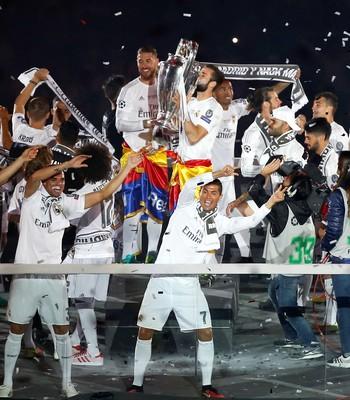 Cristiano Ronaldo Pepe Real Madrid (Foto: Reuters)
