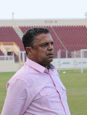 Luís Carlos Mendes técnico do Treze (Foto: Osmar Rios / GloboEsporte.com)