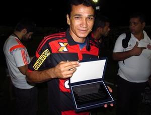 Ronaldo Angelim, Icasa, Flamengo, Homenagem, Romeirão, Juazeiro (Foto: Juscelino Filho)