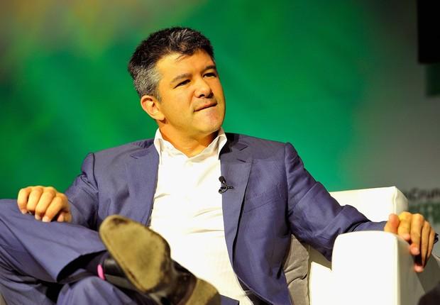 O presidente e criador do Uber, Travis Kalanick (Foto: Steve Jennings/Getty Images )