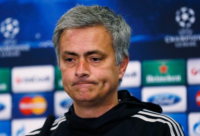 Mourinho coletiva Chelsea (Foto: Reuters)