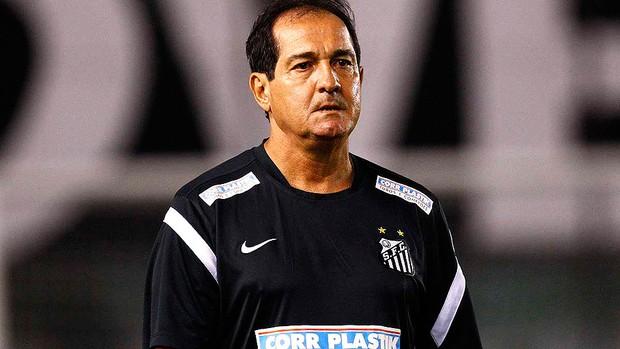 Muricy Ramalho jogo Santos Mirassol (Foto: Ricardo Saibun / Divulgação Santos FC)
