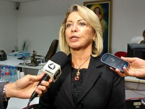 Juíza Selma Arruda, responsável por conduzir as audiências da Operação Sodoma (Foto: Lislaine dos Anjos/G1)