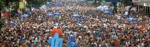 Monobloco arrasta multidão no último dia de carnaval do RJ (Alexandre Durão/G1)