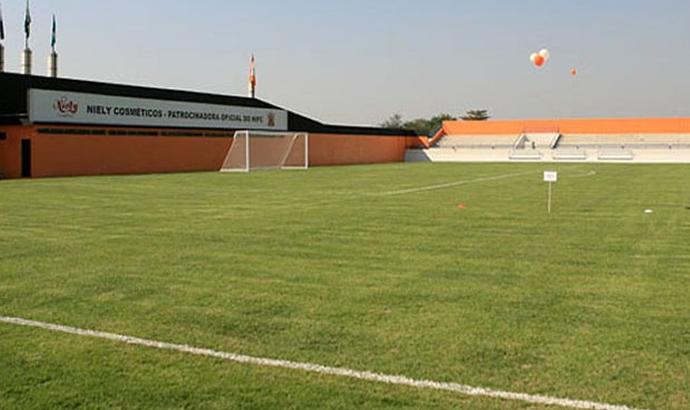 Estádio Laranjão, Nova Iguaçu (Foto: Divulgação/Buda Mendes)