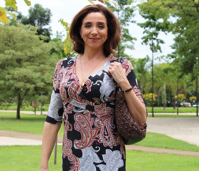 Marisa Orth dará vida a Francesca, uma feirante de origem italiana (Foto: Ariane Ducati/Gshow)