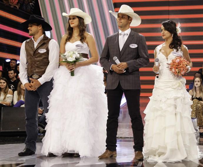 Essa tendência está ficando conhecida no interior como 'Casamento Rústico Chique' (Foto: João Pedro Januário)