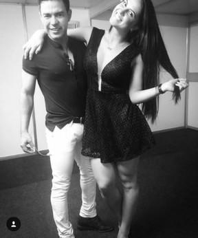 Graciela Lacerda e Zezé di Camargo (Foto: Instagram)