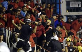 No basquete, Flamengo é punido  por briga entre seus torcedores
