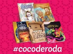 Cinco novos títulos da coleção Coco de Roda serão lançados (Foto: Reprodução/Instagram)