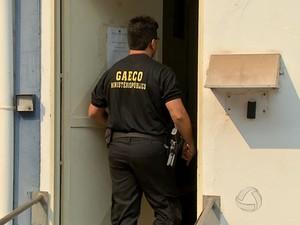 Operação 'Metástase', do Grupo de Atuação Especial Contra o Crime Organizado (Gaeco) (Foto: Reprodução/TVCA)