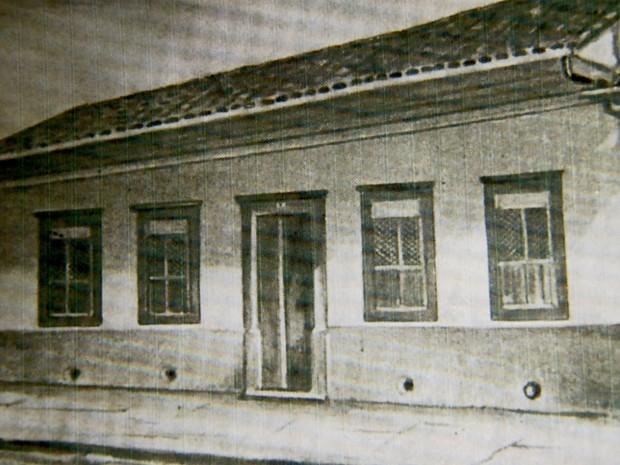Casa onde Carlos Gomes morou no Centro de Campinas (Foto: Reprodução/ EPTV)
